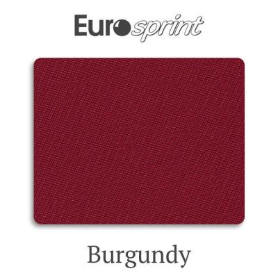 Сукно бильярдное Eurosprint 45 Rus Pro Burgundy 360 г/м2 45% шерсть 55% нейлон