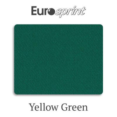 Сукно бильярдное Eurosprint 45 Rus Pro Yellow Green