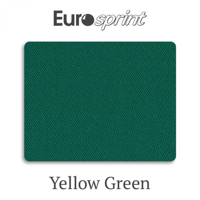 Сукно бильярдное Eurosprint 45 Rus Pro Yellow Green
