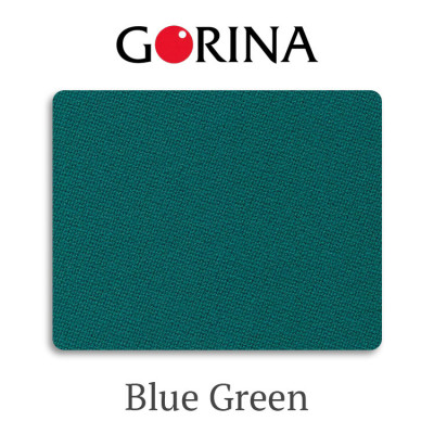 Сукно бильярдное Gorina Granito Tournament 2000 Blue Green 380 г/м2 80% шерсть 20% нейлон