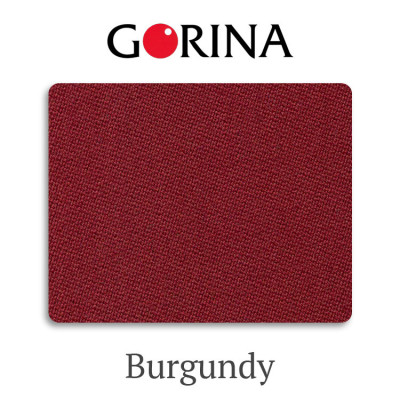 Сукно бильярдное Gorina Granito Tournament 2000 Burgundy