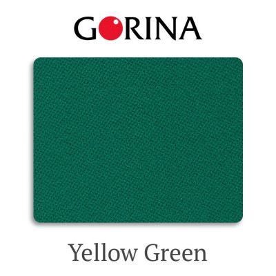 Сукно бильярдное Gorina Granito Tournament 2000 Yellow Green