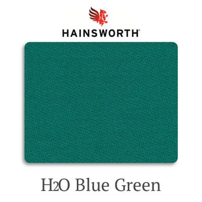 Сукно бильярдное Hainsworth Elite-Pro H2O BlueGreen водонепроницаемое