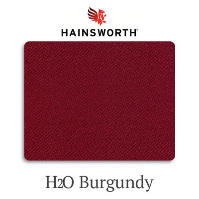 Сукно бильярдное Hainsworth Elite-Pro H2O Burgundy водонепроницаемое