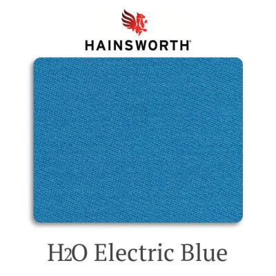 Сукно бильярдное Hainsworth Elite-Pro H2O Electric Blue водонепроницаемое