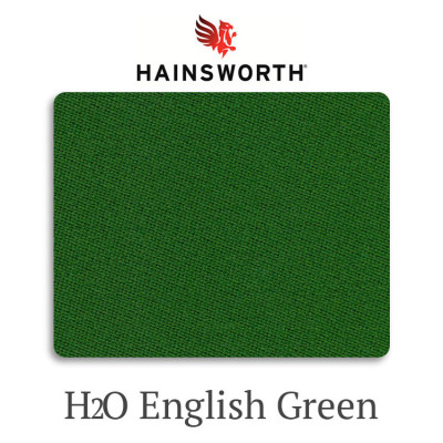 Сукно бильярдное Hainsworth Elite-Pro H2O English Green водонепроницаемое