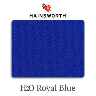Сукно бильярдное Hainsworth Elite-Pro H2O RoyalBlue водонепроницаемое