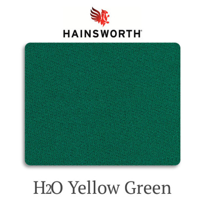 Сукно бильярдное Hainsworth Elite-Pro H2O Yellow Green водонепроницаемое