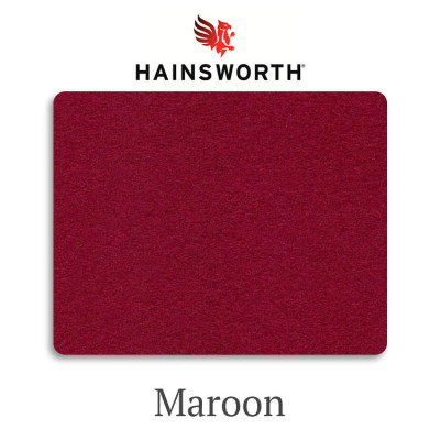 Сукно бильярдное Hainsworth Smart Snooker Maroon 460 г/м2 95% шерсть 5% нейлон