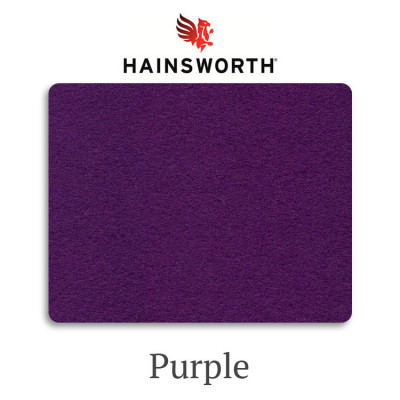 Сукно бильярдное Hainsworth Smart Snooker Purple