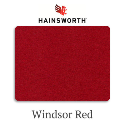 Сукно бильярдное Hainsworth SmartSnooker Windsor Red