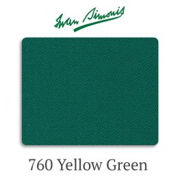 Сукно бильярдное Iwan Simonis 760 Yellow Green