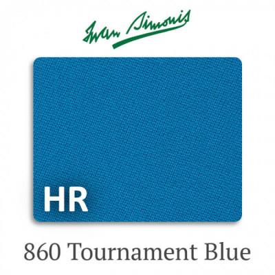 Сукно бильярдное Iwan Simonis 860 HR Tournament Blue