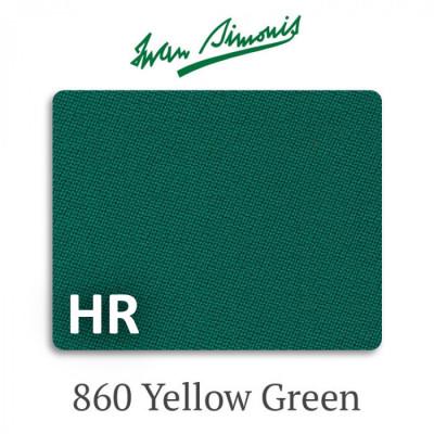 Сукно бильярдное Iwan Simonis 860 HR Yellow Green