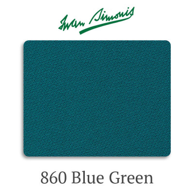 Сукно бильярдное Iwan Simonis 860 Blue Green