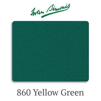 Сукно бильярдное Iwan Simonis 860 Yellow Green