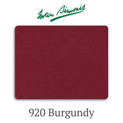 Сукно бильярдное Iwan Simonis 920 Burgundy