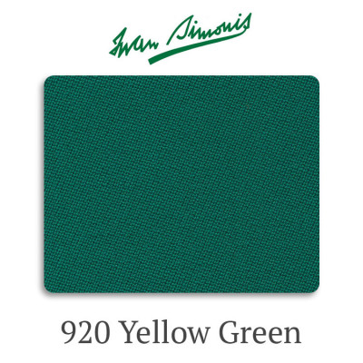Сукно бильярдное Iwan Simonis 920 Yellow Green