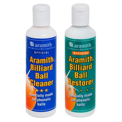 Комплект для чистки и реставрации шаров Aramith Ball Cleaner&Restorer 250 + 250 мл