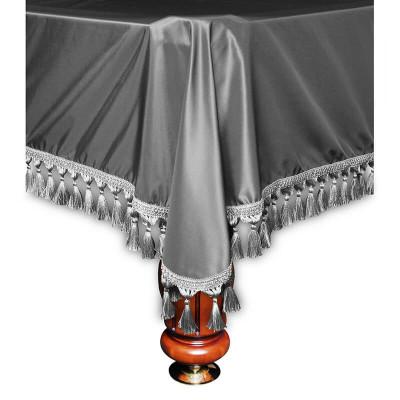 Покрывало для бильярдных столов Verona 10 футов серебристое