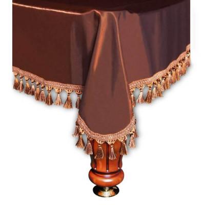 Покрывало для бильярдных столов Verona 9 футов коричневое