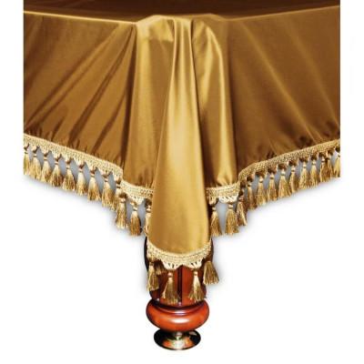 Покрывало для бильярдных столов Verona 8 футов золотое