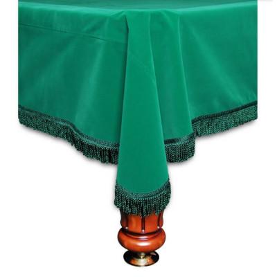 Покрывало для бильярдных столов Chicago 8 футов зеленая бахрома