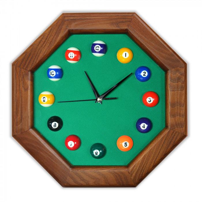Часы бильярдные FS-8 Green