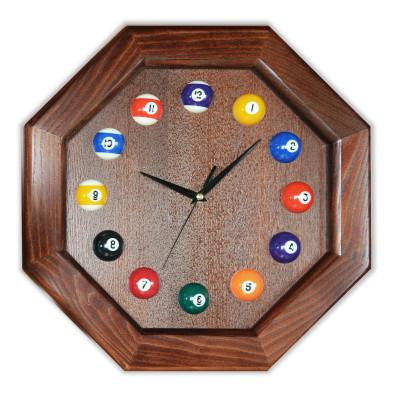 Часы бильярдные FS-8 Woody ясень шпон