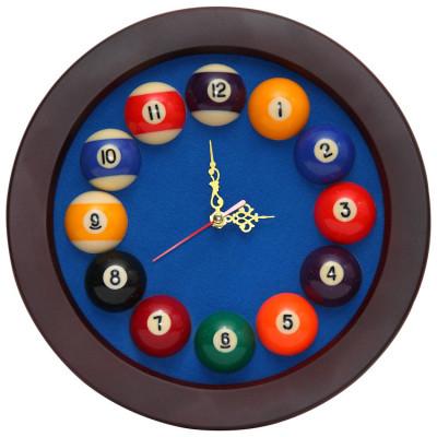 Часы бильярдные Rotundo синие