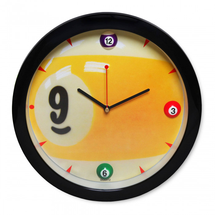 Часы бильярдные Sunny 025