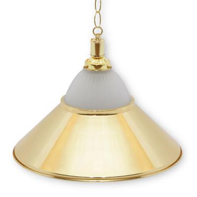 Светильник бильярдный Alison 1 плафон золотой плафон