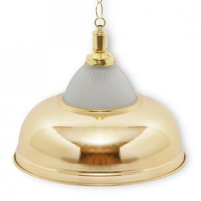 Светильник бильярдный Crown 1 плафон золотой плафон