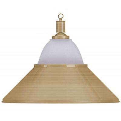 Светильник бильярдный Jazz 1 плафон бронзовый