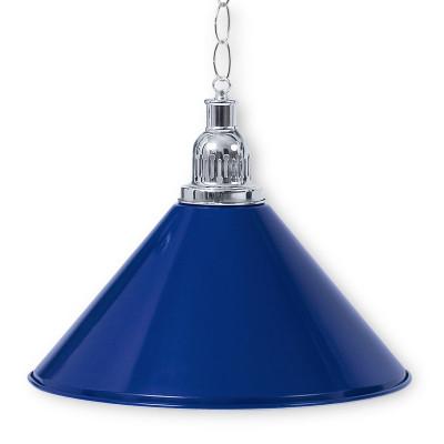Светильник бильярдный PrestigeSilver 1 плафон синий плафон