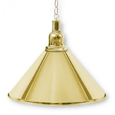 Светильник бильярдный PrestigeGolden 1 плафон золотой плафон
