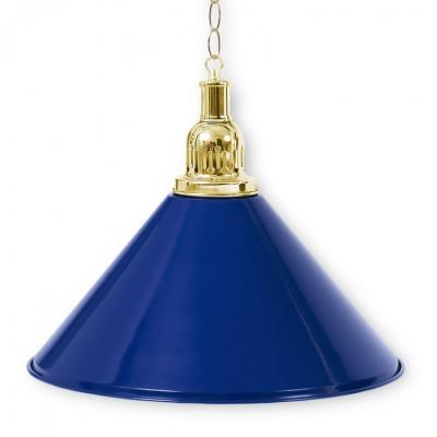 Светильник бильярдный PrestigeGolden 1 плафон синий плафон