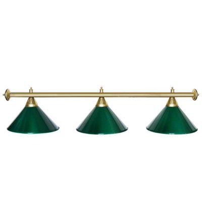Светильник бильярдный StarGreenGLD 3 плафона золотая штанга