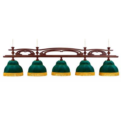 Светильник бильярдный Венеция 5 плафонов