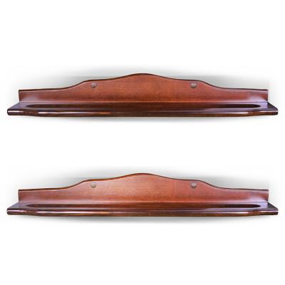 Полка для бильярдных шаров П-1 коричневая