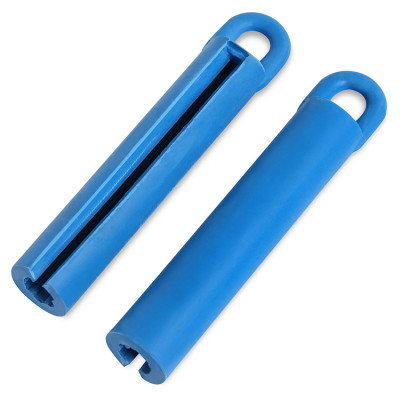 Подвес для кия 105 мм резиновый синий
