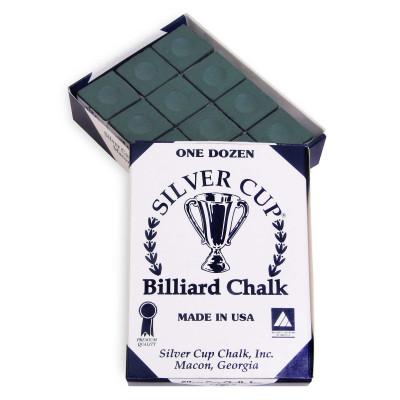 Мел бильярдный Silver Cup Spruce 12шт