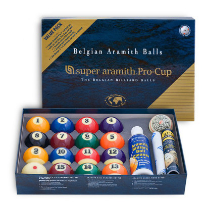 Шары бильярдные Aramith Super Pro-Cup Value Pack для пула 57,2мм