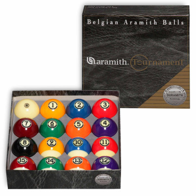 Шары бильярдные Aramith Tournament для пула 57,2мм