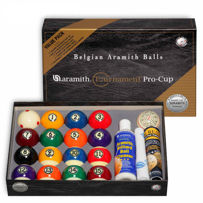 Шары бильярдные Aramith Tournament Pro-Cup TV Value Pack для пула 57,2мм