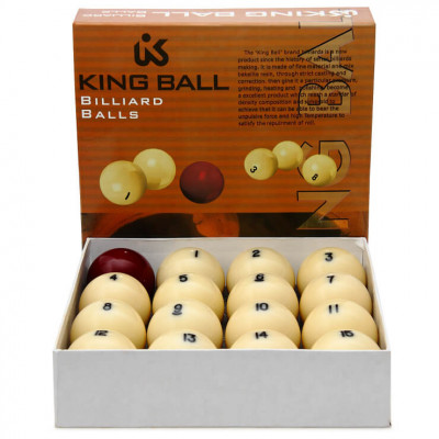 Шары бильярдные King Ball Lite для русского бильярда 68мм