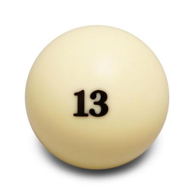 Шар бильярдный Aramith Super Pro Tournament №13 для русского бильярда 67мм