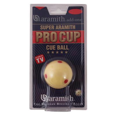 Биток для бильярда Aramith Super Pro-Cup для пула 57,2мм