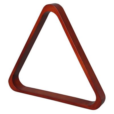 Треугольник для бильярда Classic 57,2мм махагон