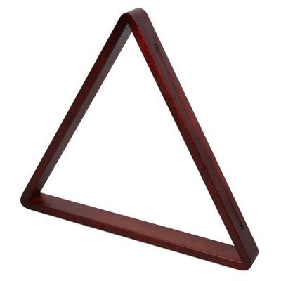 Треугольник для бильярда Венеция 68мм махагон